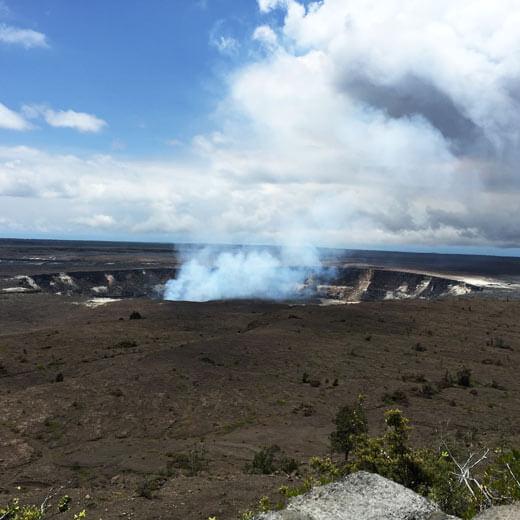 Kilauea, der aktivste Vulkan der Inseln