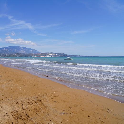 Der wunderschöne Strand von Xi