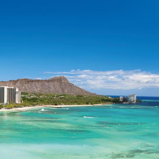Verbringt entspannte Stunden am Waikiki Beach