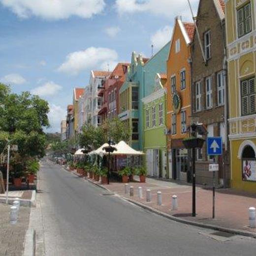 Die farbigen Häuser von Willemstad