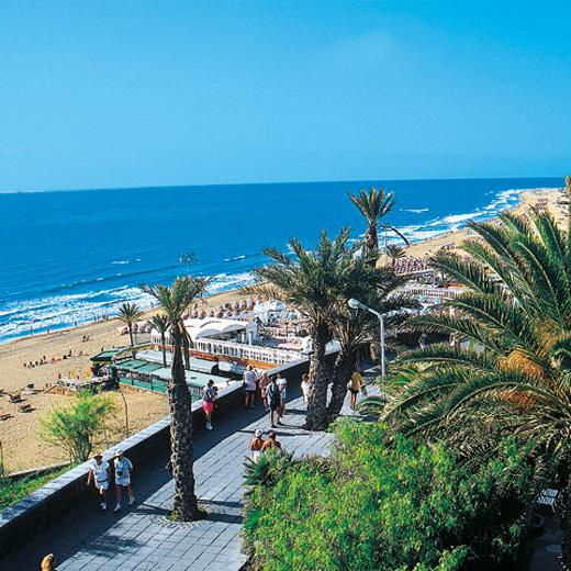Strandpromenage am Playa del Ingles