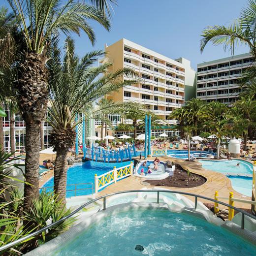 Aussenanlage vom IFA Buenaventura Hotel