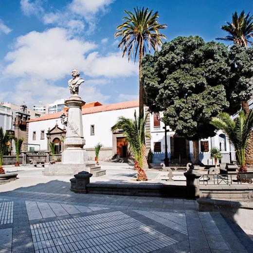 Die Hauptstadt Las Palmas