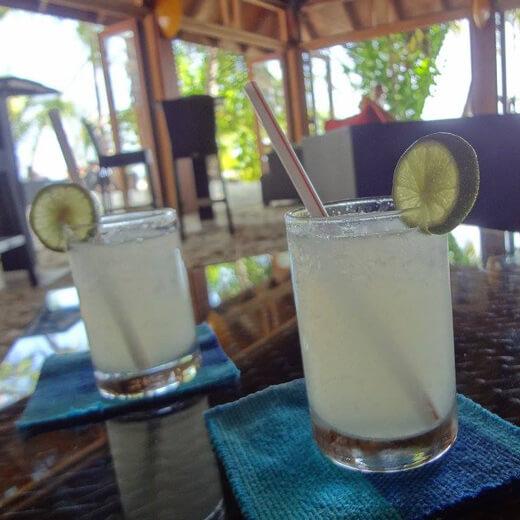 Cocktail de bienvenue à notre hôtel