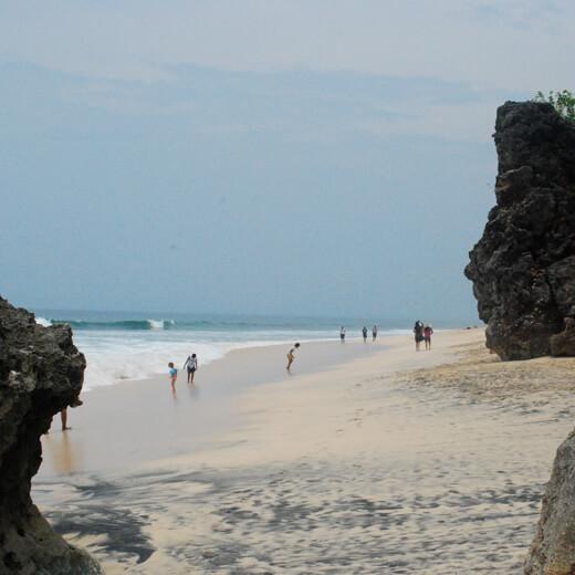 Wunderschöner Blick auf Dreamland Beach