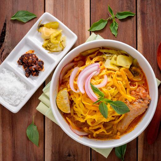 Khao soi – ein suppenartiges Gericht
