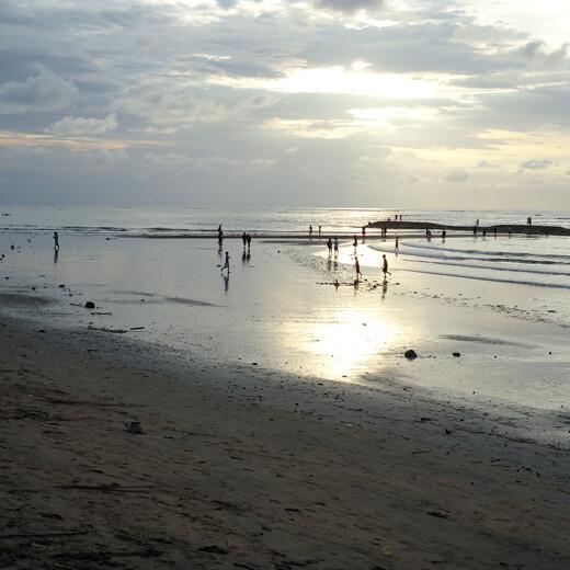 Abendstimmung an der Kuta Beach