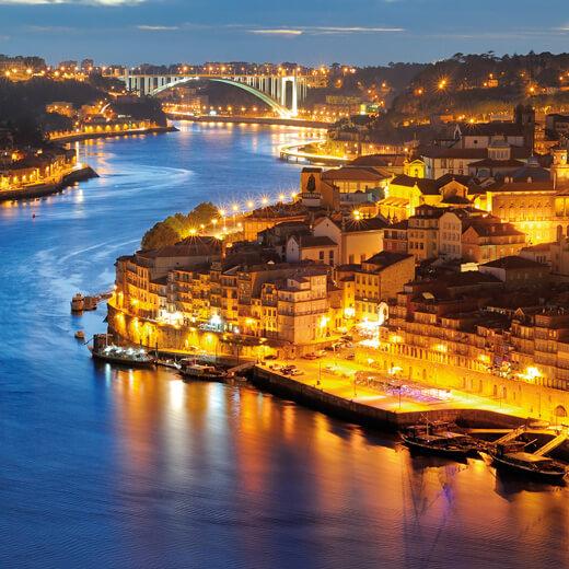 Nachtleben von Porto
