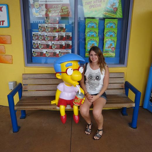 Ich im Universal Studios