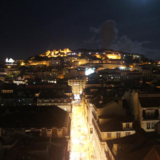 Lisbonne la nuit