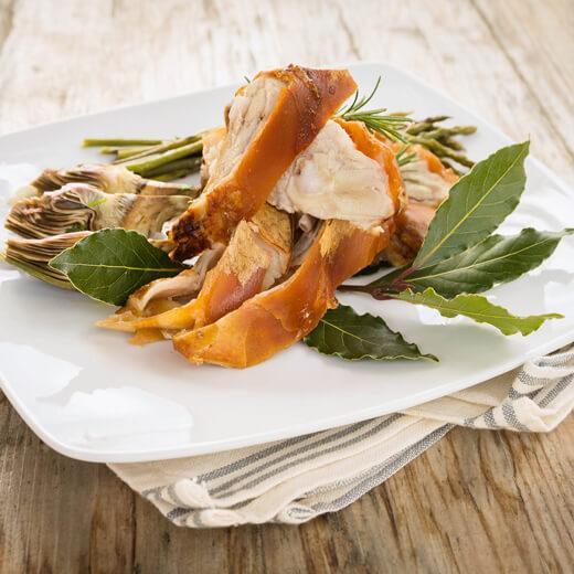 Porcetto – Spanferkel mit einer Kräutermarinade