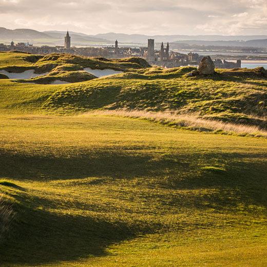 Die Saint Andrews Links sind eine der grössten Golfanlagen