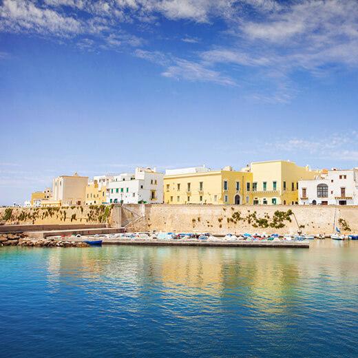 Gallipoli, surnommée la «perle de la mer Ionienne»