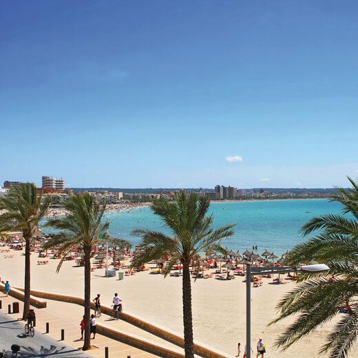 Der bekannt Playa de Palma