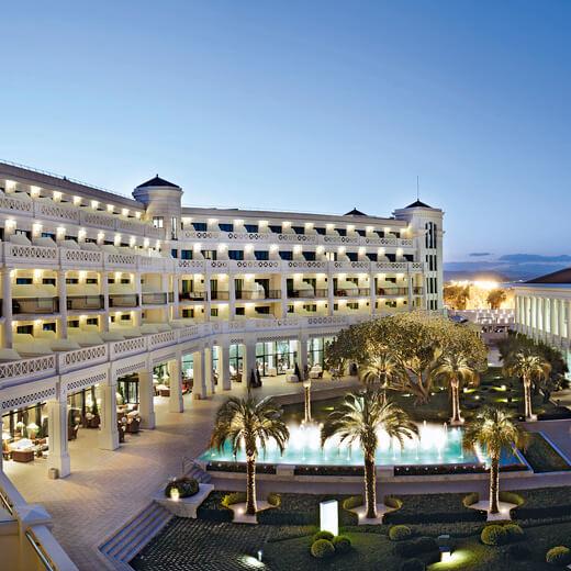 Die Hotelanlage des Balneario las Arenas