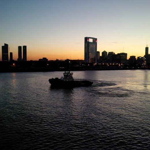 Ausblick über Buenos Aires