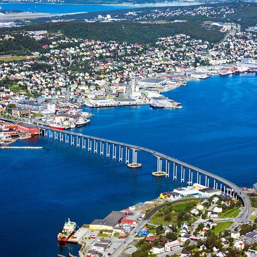 Tromsö – die Stadt inmitten der Arktis