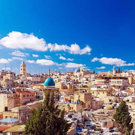 Jerusalem – die heilige Stadt