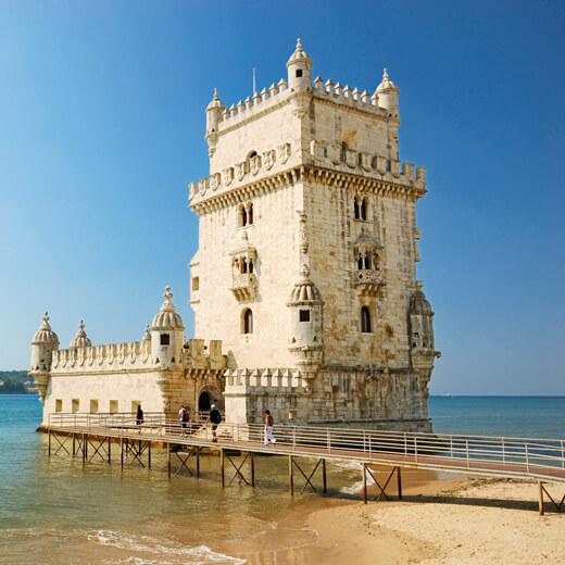 Der Torre de Belem sollte man bei einem Besuch in Lissabon in vergessen zu besuchen