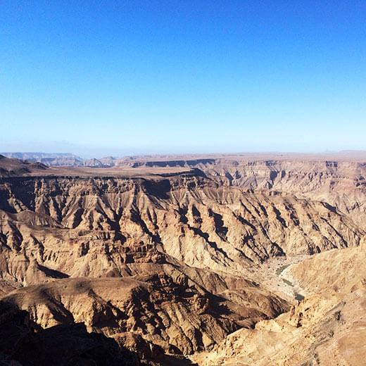 Der Grand Canyon von Afrika