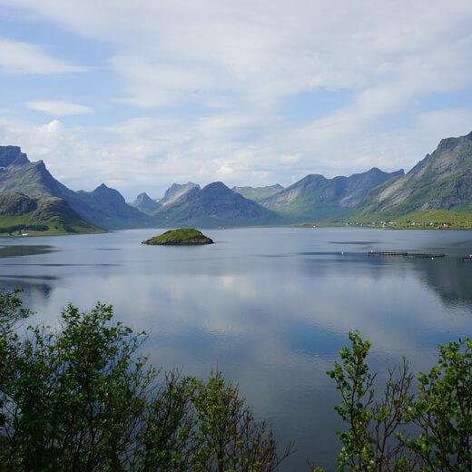 L'époustouflant paysage des Lofoten