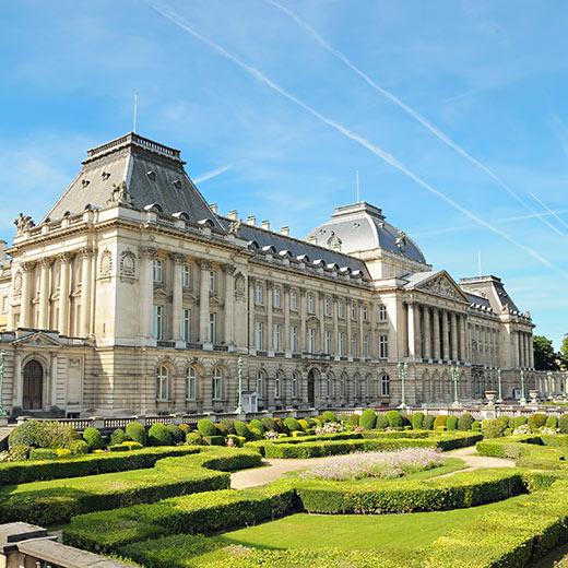 Der Königspalast in Brüssel