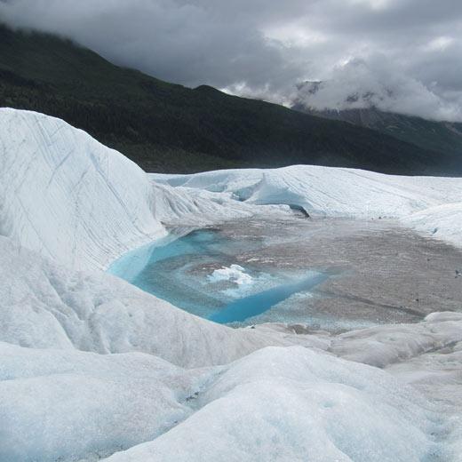 Gletscherwanderung auf dem Root Glacier