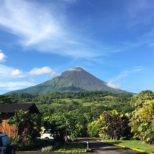 Der Vulkan Arenal im gleichnamigen Nationalpark