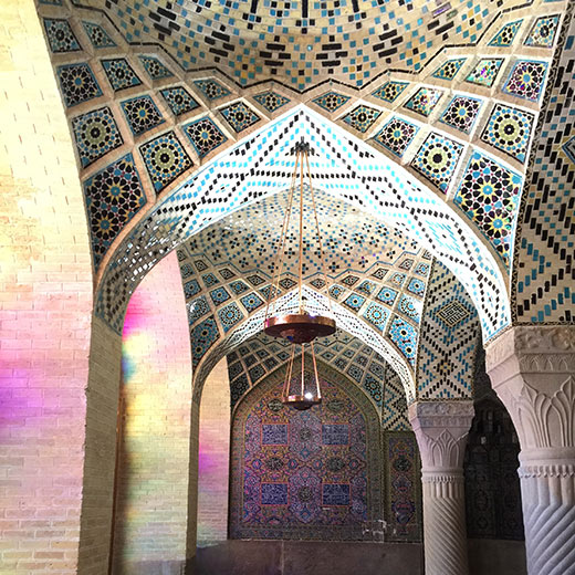 Nasir-al-Molk-Moschee in Shiraz