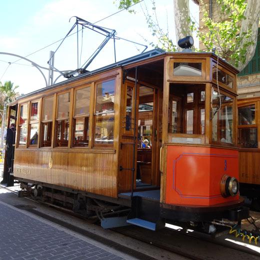 Un vieux tramway de Sóller