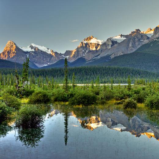 Der Banff Nationalpark in Alberta