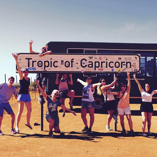 Die Drifters Reisegruppe