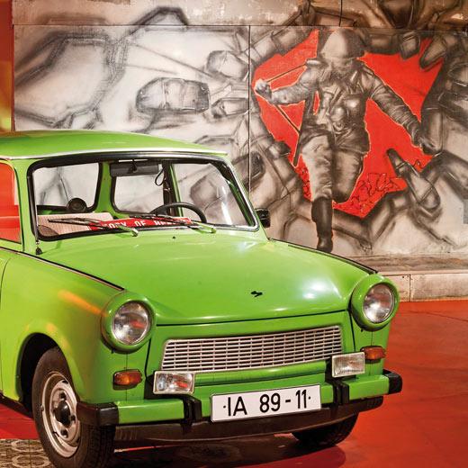 Ein Trabi im DDR - Museum