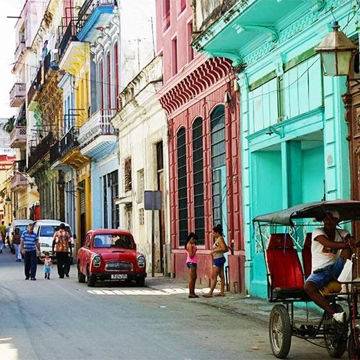 Die Strassen Havannas