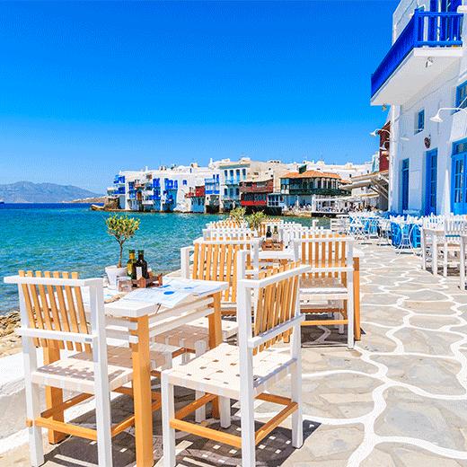 Taverne in Mykonos