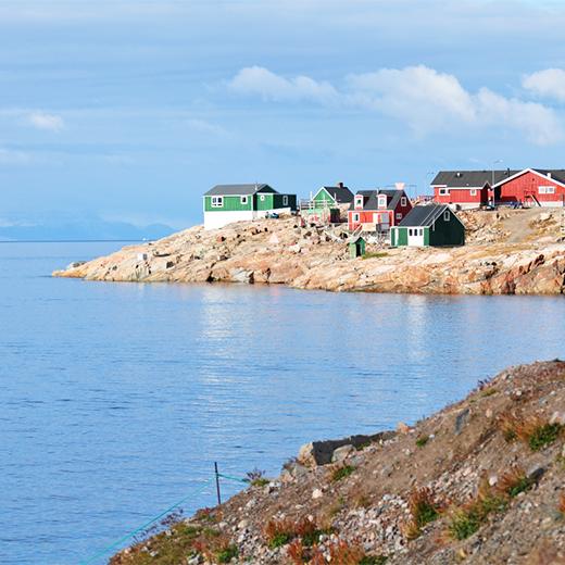 Grönlands Dorf Ittoqqortoormiit