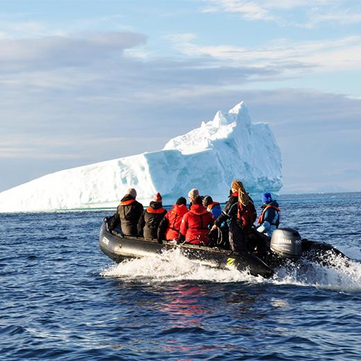 Polarcircle Bootsausflug