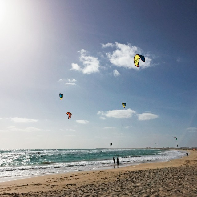 Der Kiteboarding Club in Sal Costa da Fragata