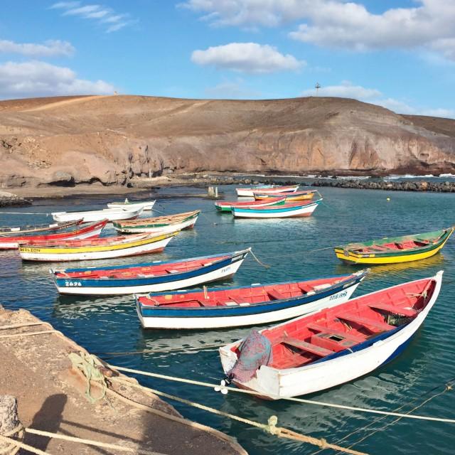 Der Hafen Pedra Lume