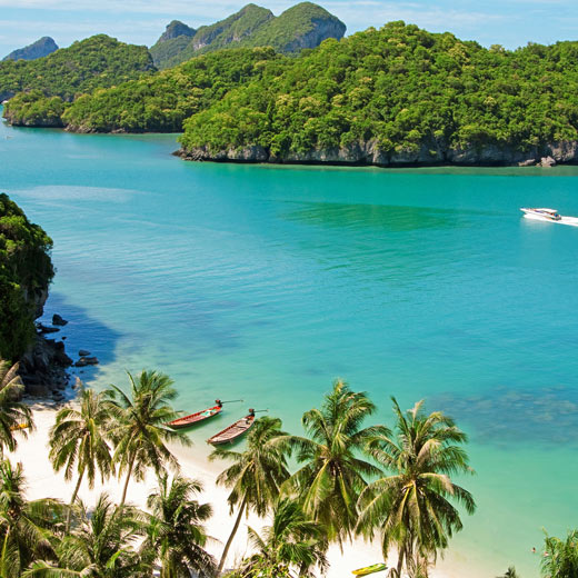 Der Ang-Thong Marine Nationalpark