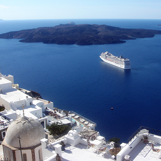 Kreuzfahrt Santorini
