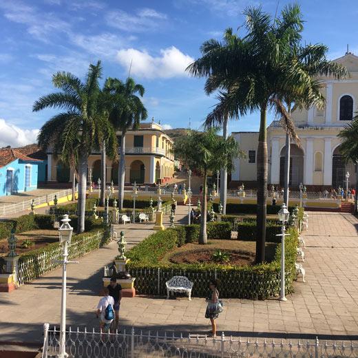 Place Mayor à Trinidad