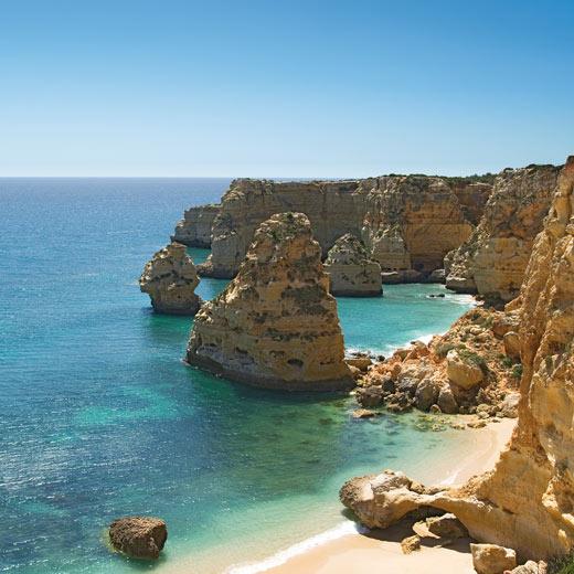 Ein typisches Bild der Algarven