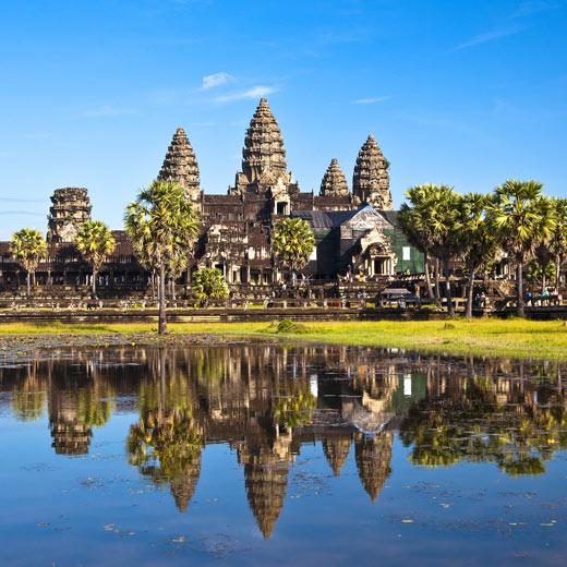 Die Tempelanlage Angkor Wat