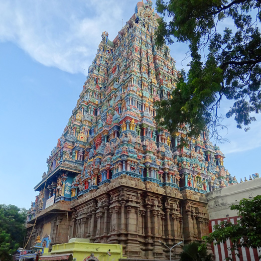 Madurai – Temple de Minakshi