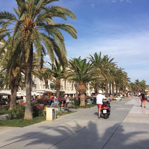 Foto von der Promenade