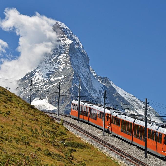 Cervin vu de Zermatt