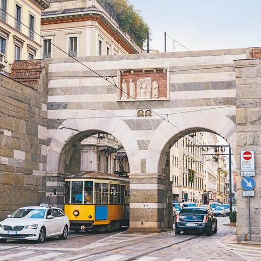 Rue via Manzoni