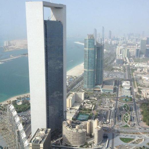 Skyline Corniche in Abu Dhabi
