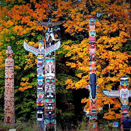 Totem Nationalpark in Vancouver